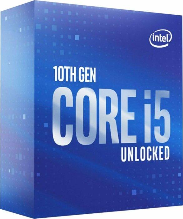 Intel Core i5-10600K (6 Kerne, 12 Threads, 4,10 GHz Basistakt, LGA1200 Sockel, 125 Watt) Boxed