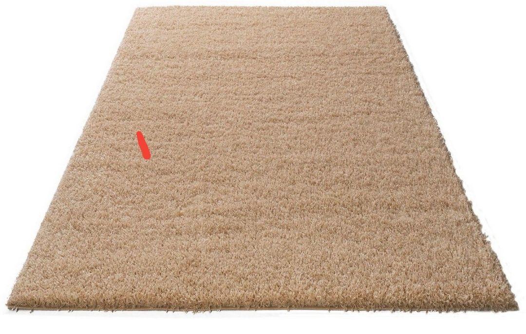 Hochflor-Teppich »Viva«, Home affaire, rechteckig, Höhe 45 mm, gewebt, Wohnzimmer 70 CM x 140 CM x 45 mm