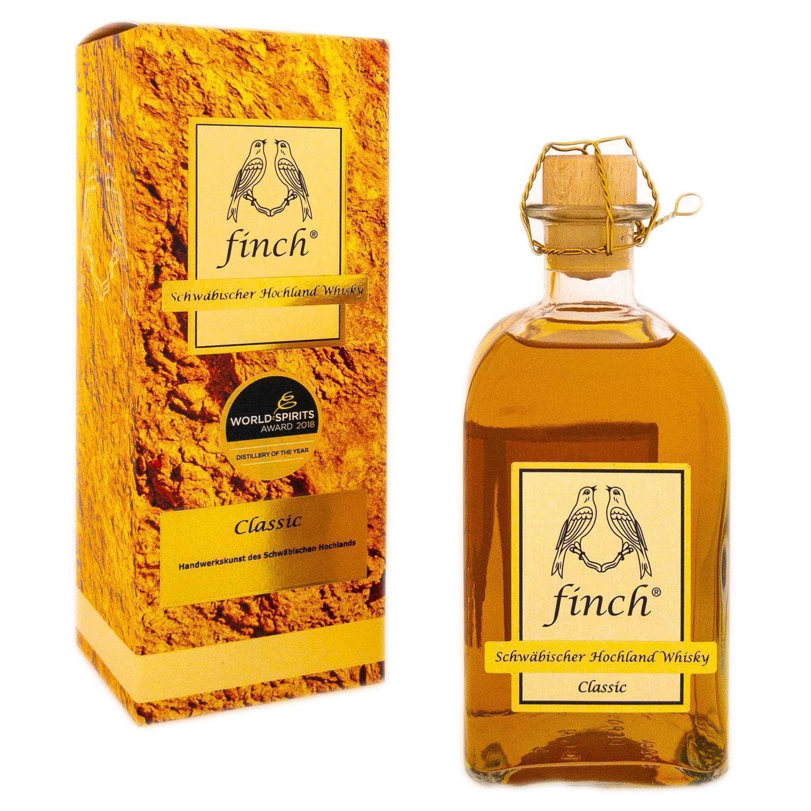 Finch Classic Schwäbischer Highlandwhisky 0,5l 40% für 24 BerlinBottlebei Selbstabholung