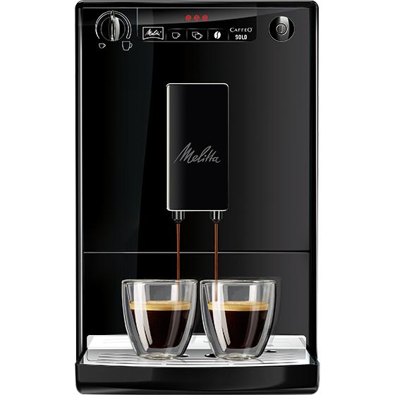 CAFFEO® SOLO® KAFFEEVOLLAUTOMAT, PURE BLACK