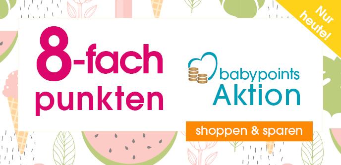 Heute 8-fach punkten bei babymarkt.de