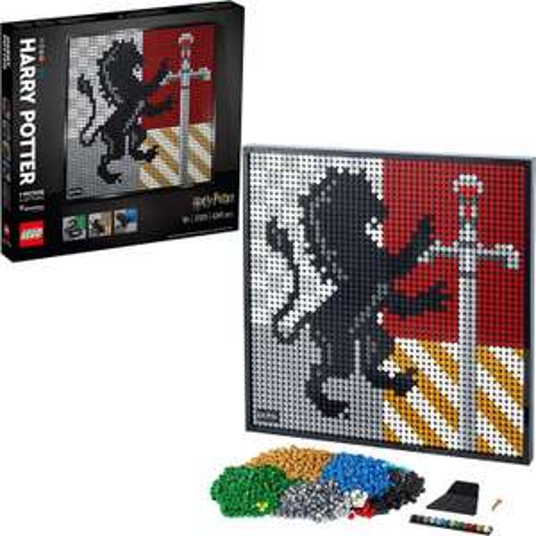 LEGO Art (31201) Harry Potter Hogwarts Wappen Bauset