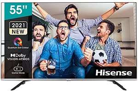 Hisense 55E76GQ QLED 139cm (55 Zoll) Fernseher (4K QLED, Smart TV, Triple Tuner, HDR 10, HDR 10+ decoding,