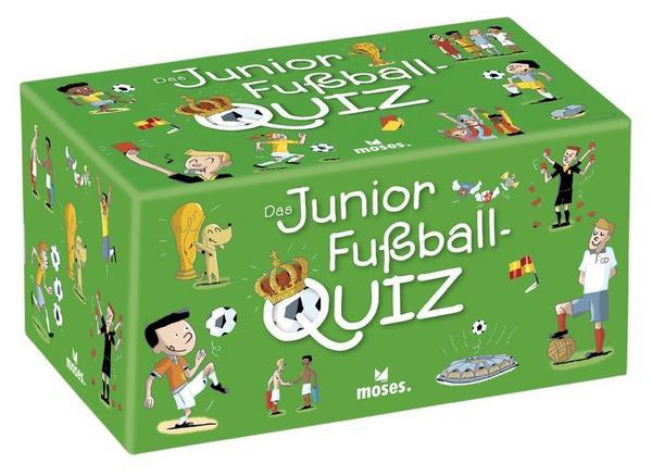 Junior Fußball Quiz von Moses für 7,99 € für Thalia Club Mitglieder
