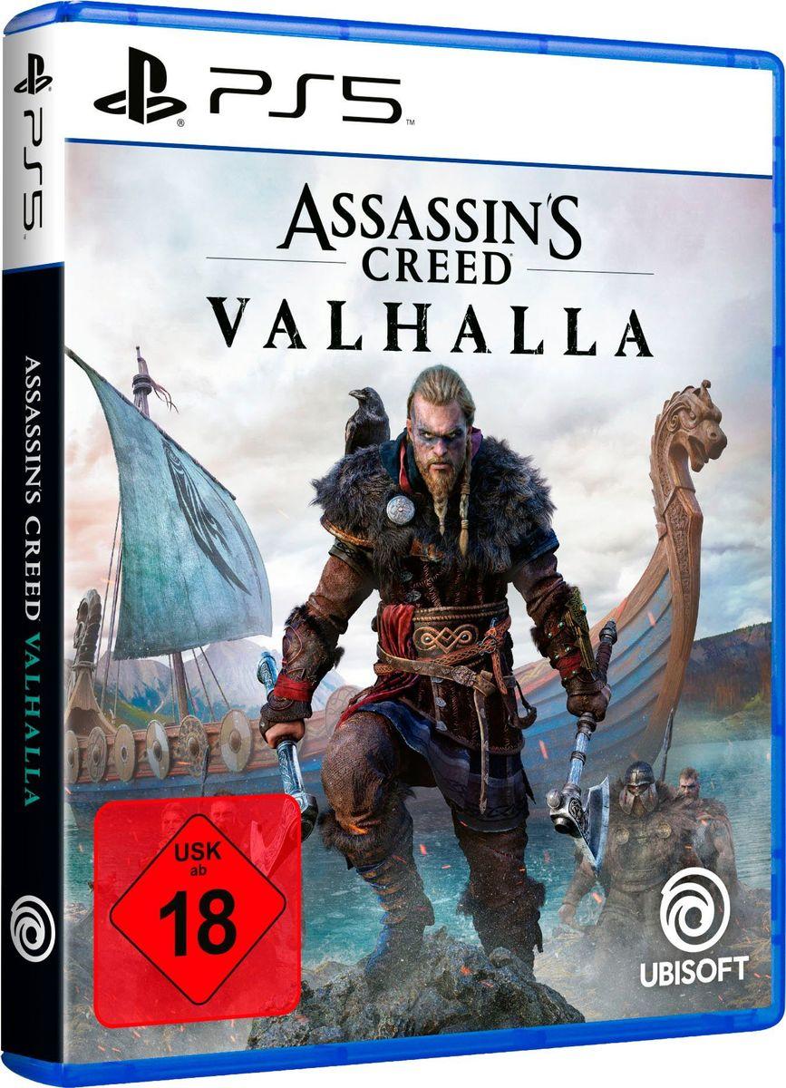 Assassin's Creed Valhalla (PS5, deutsche USK-Version, Metacritic 84/7.8)