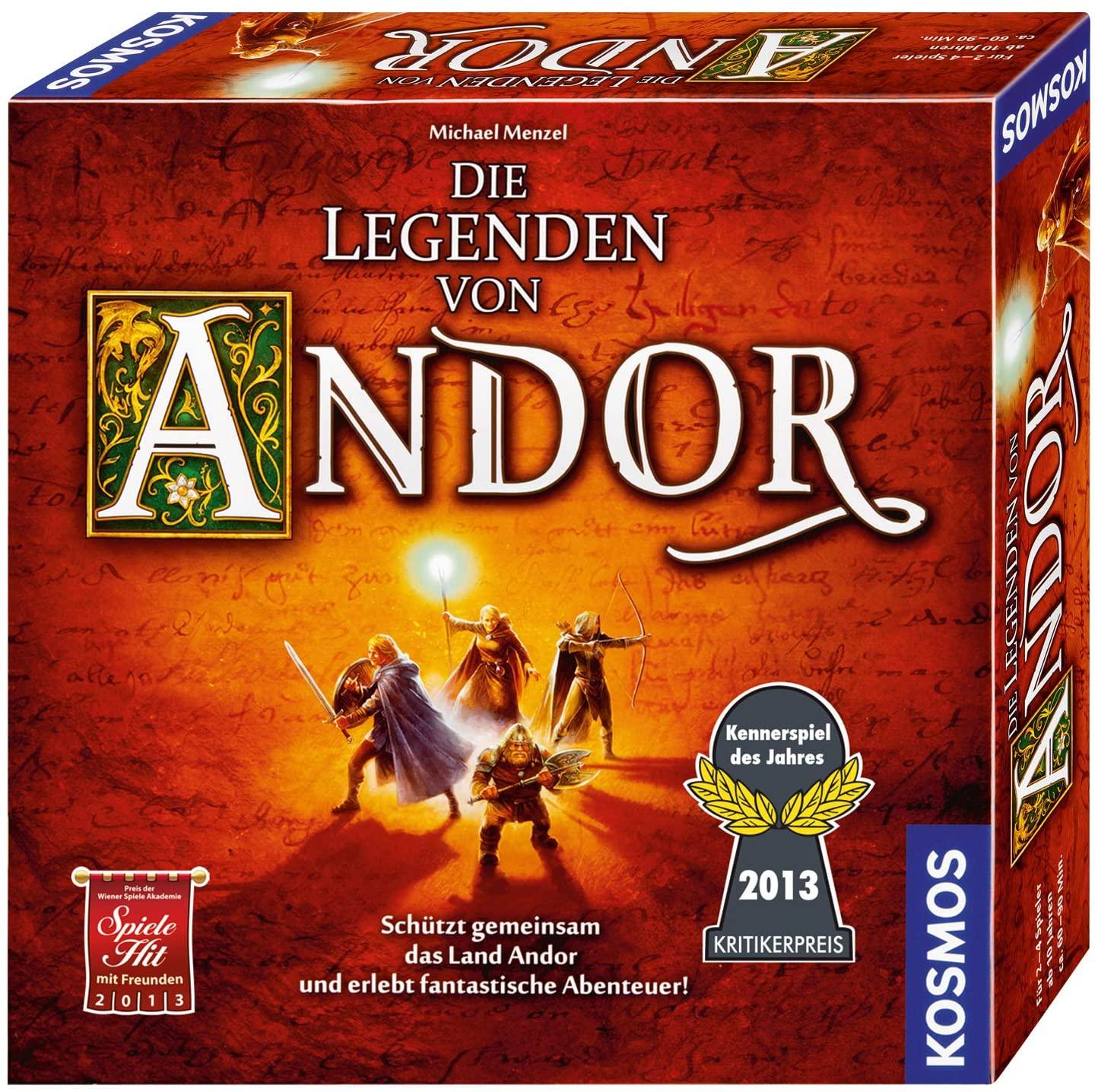 Die Legenden von Andor - Kennerspiel des Jahres 2013 [Thalia KultClub/Prime]