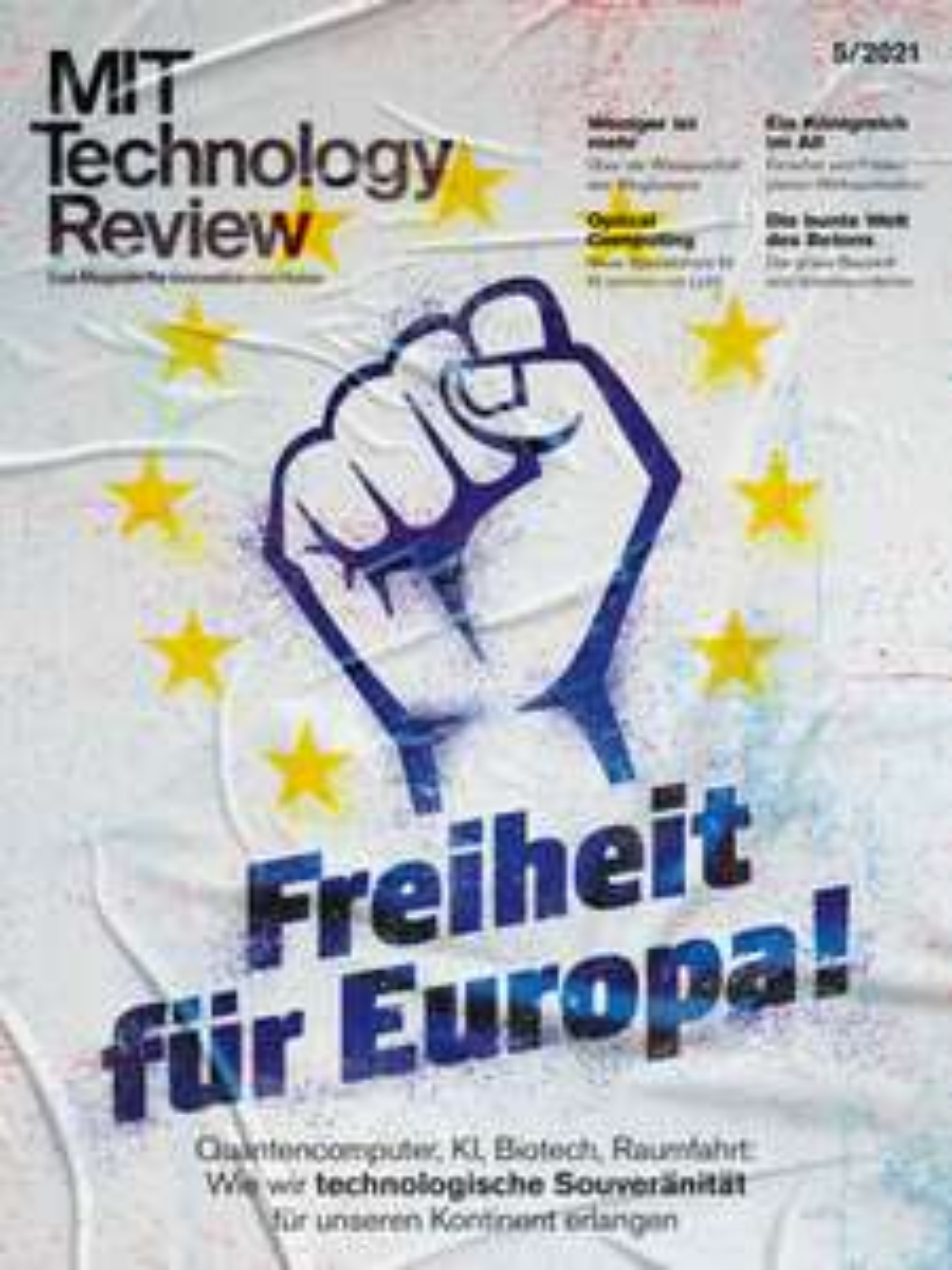 [Heise] Technology Review Abo (2 Hefte) + TR Heft 01/21 + 10€ Amazon oder Buch Künstl. Intelligenz   Version Print für 14,30 €