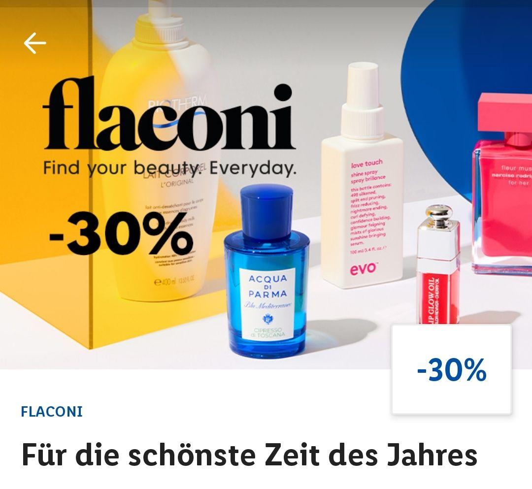 Flaconi Beauty 30% für Lidl-Plus Kunden + Payback-Punkte (evtl. 7-fach)