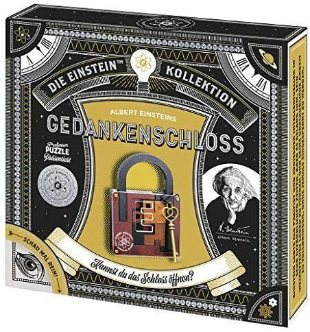 moses. 92105 Albert Einsteins Gedankenschloss   Professor Puzzle Geduldspiel aus Holz für die ganze Familie [Thalia KultClub]
