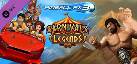 Pinball FX3 Carnivals and Legends DLC (Steam) kostenlos bei Alienwarearena