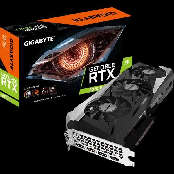 Gigabyte GeForce RTX 3070 Ti Gaming OC 8 GB GDDR6X Retail