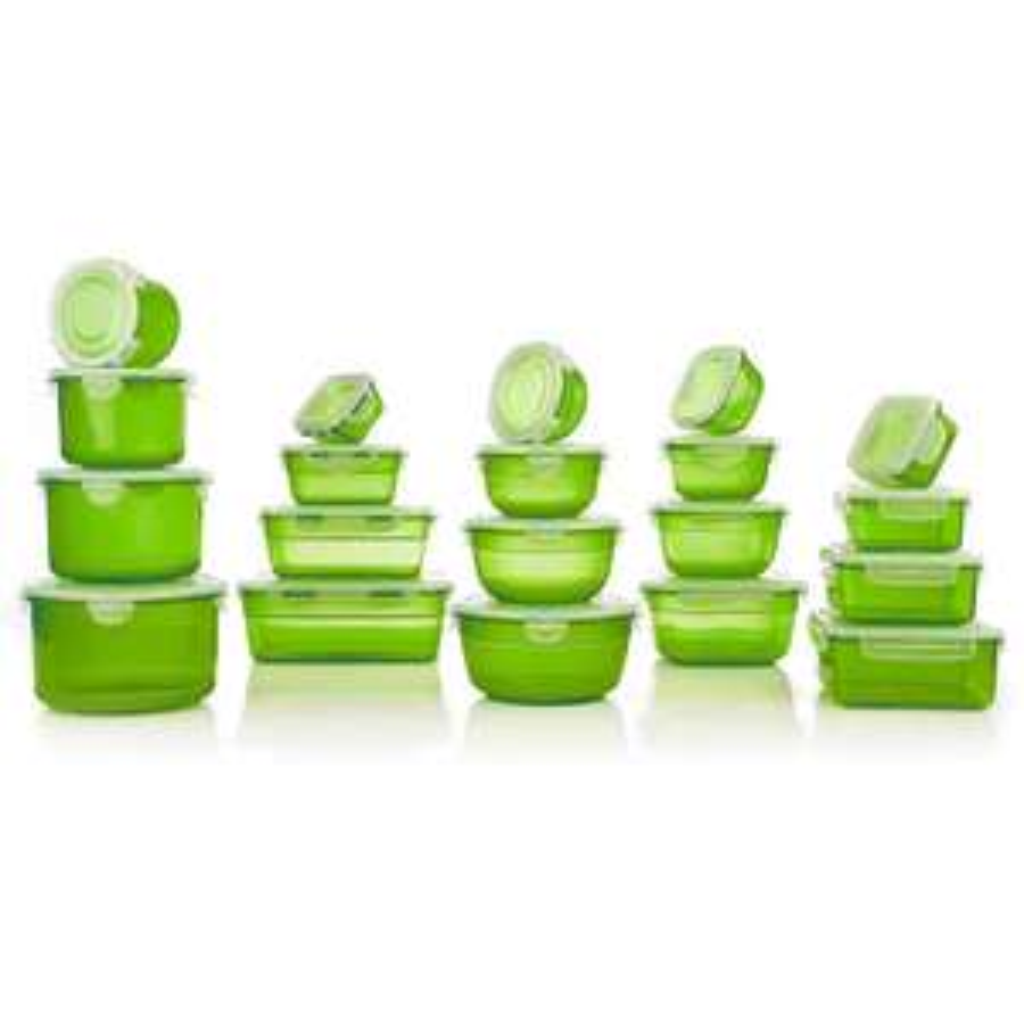 20 LocknLock Frischhaltedosen (verschiedene Farben, nestbar, 170ml-2,1l) für 20€ (mit Neukundengutschein für 15€) versandkostenfrei