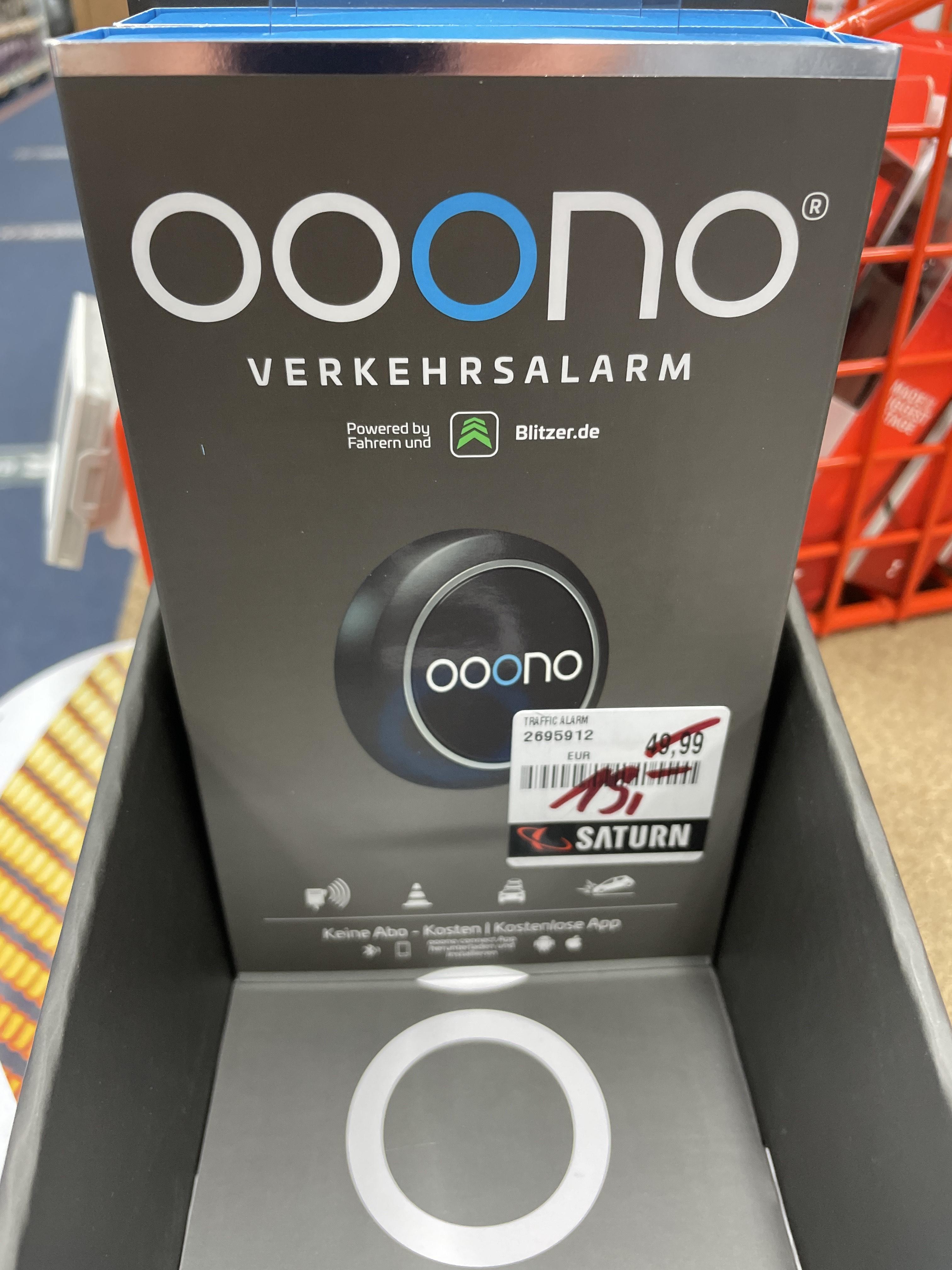 [Lokal Saturn Berlin] OOONO Verkehrsalarm 15€