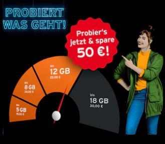 Telekom Netz: Congstar Fair Flat 1 Monat kostenlos testen durch 50€ Startguthaben + 10€ RNM + 3 Monate Tidal & Disney+