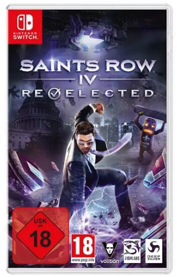 Saints Row IV: Re-Elected (Switch) für 14,69€ (Saturn & Media Markt Abholung)
