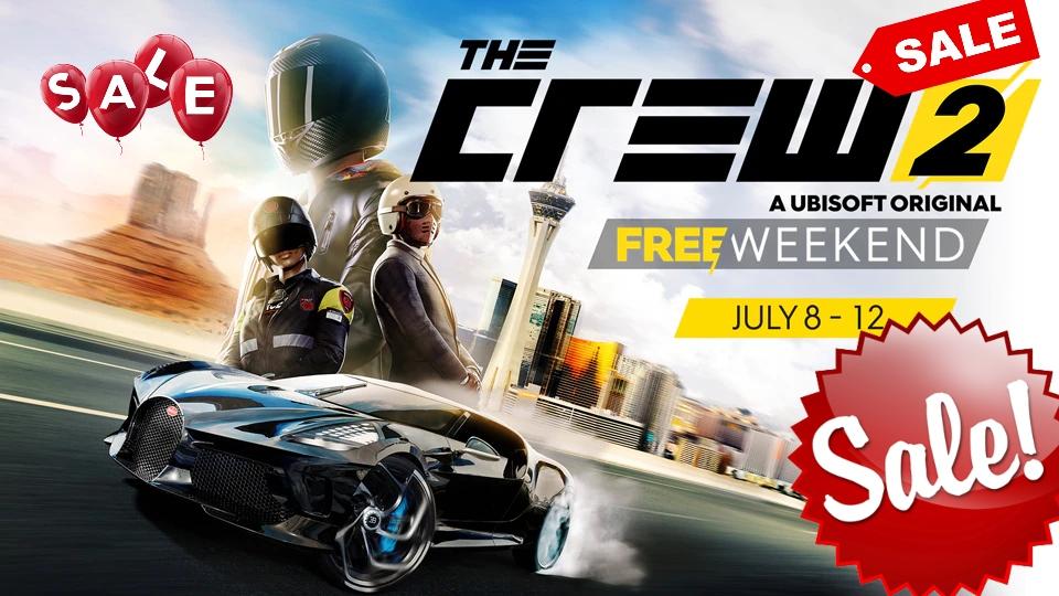 [Stadia Pro und Stadia] The Crew 2 Sale zum free Weekend