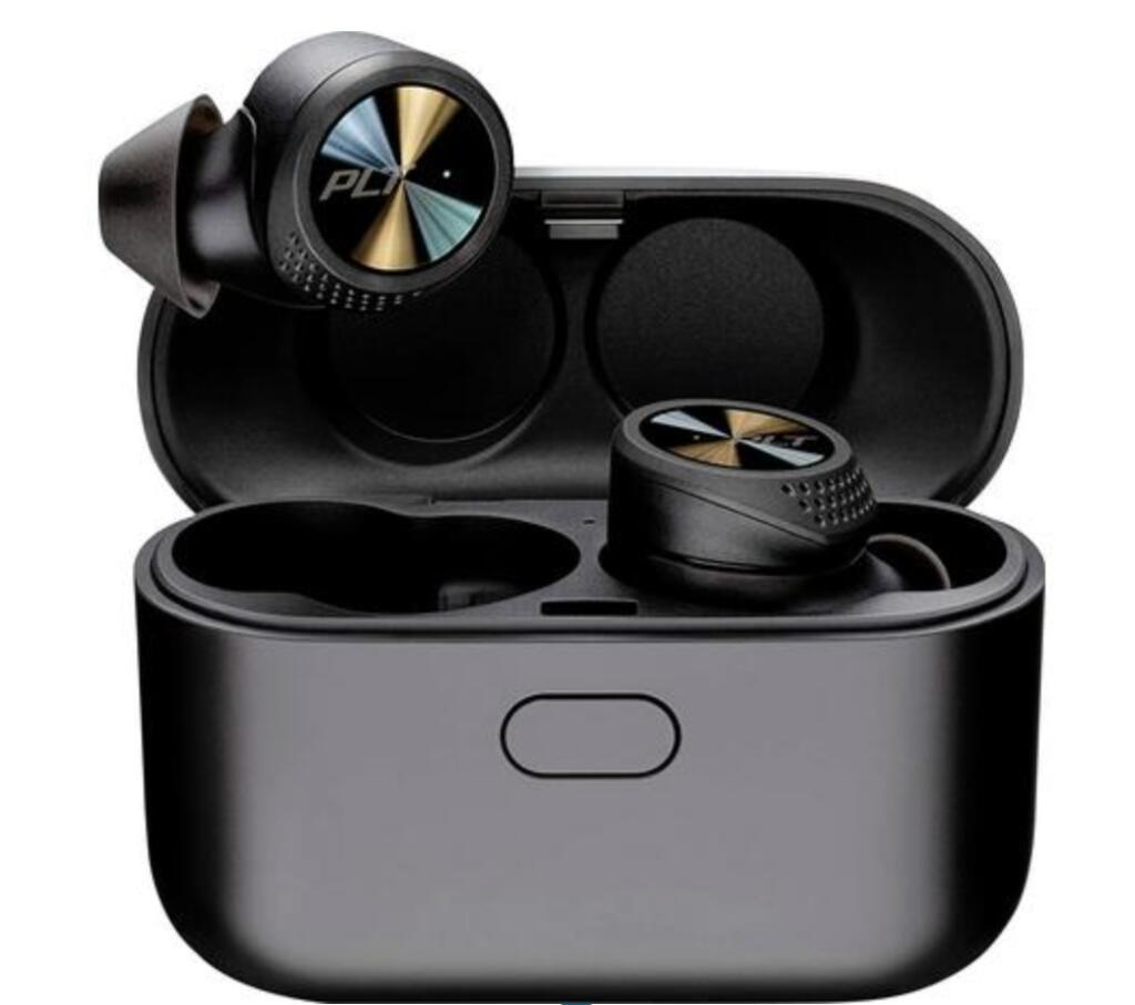 Plantronics BackBeat Pro 5100 ( Bluetooth 5.0, In Ear Kopfhörer, Headset, Lautstärkeregelung, Noise Cancelling, Quick Charging, Schwarz )