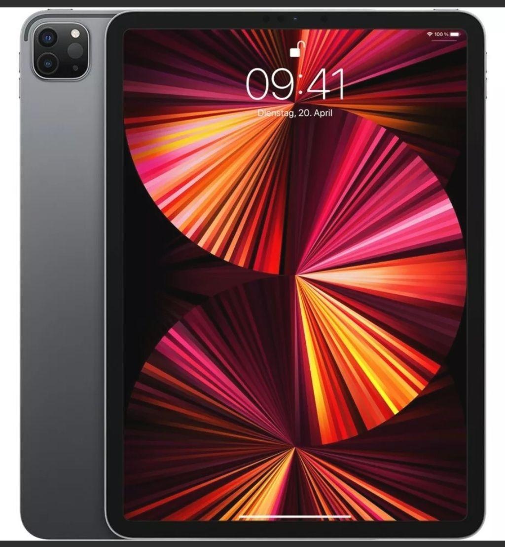 """Apple iPad Pro 11"""" 2021 - 256GB - Wi-Fi - Space Grey NEU & OVP JETZT 827 €"""