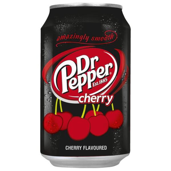 """HIT Sammeldeal: Dr. Pepper 330ml Dose : Kirsch und Pepper """" normal"""" , auch Afri Cola in der 1 Liter PET Flasche für 79 Cent anstatt 1,09 €"""