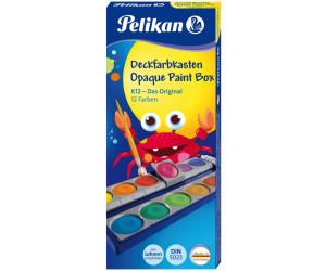 """HIT lokal Lebensmittel: Pelikan Farbkasten """"K12"""" , enthält 12 Farben und eine Tube Deckweiß"""
