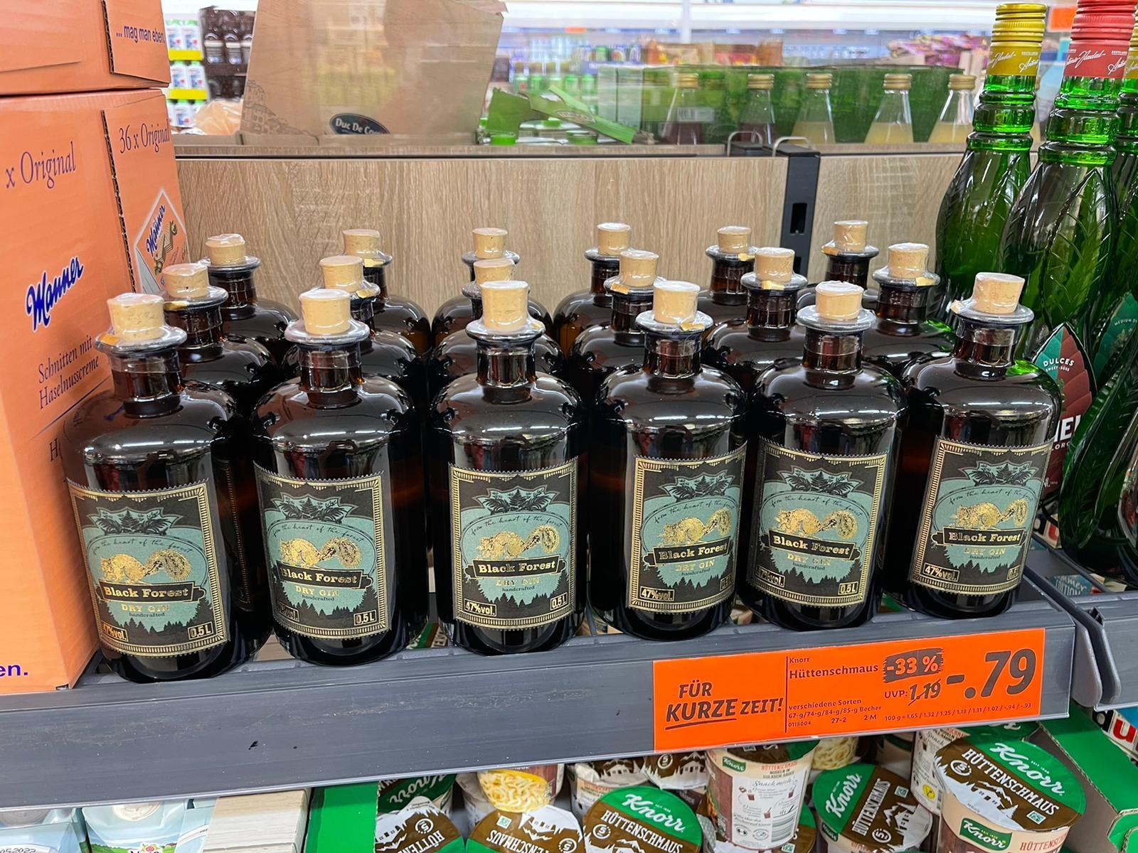 Lidl Black Forest Gin