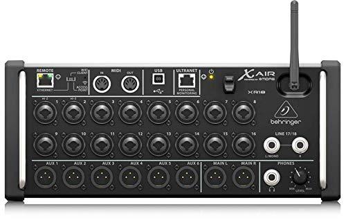 Behringer X Air XR18 Digital Mixer [Musikinstrumente]
