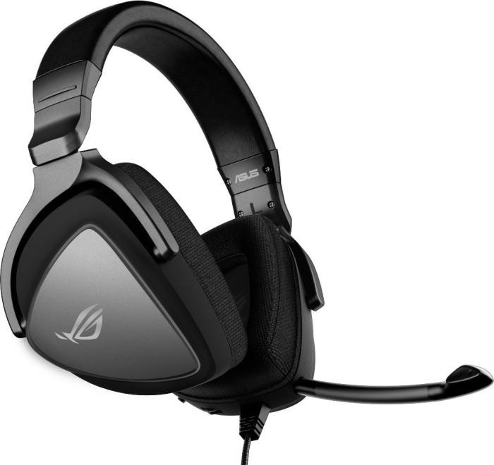 ASUS ROG Delta Core Headset (90YH00Z1-B1), Klinke, 7.1, Silber/Schwarz