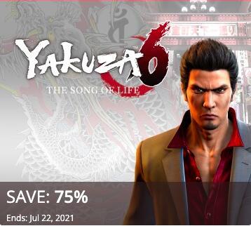 PSN (US) - Yakuza 6: The Song of Life (PS4) zum neuen Bestpreis von 4,20 € im US-Store (5,09 € im CA-Store)