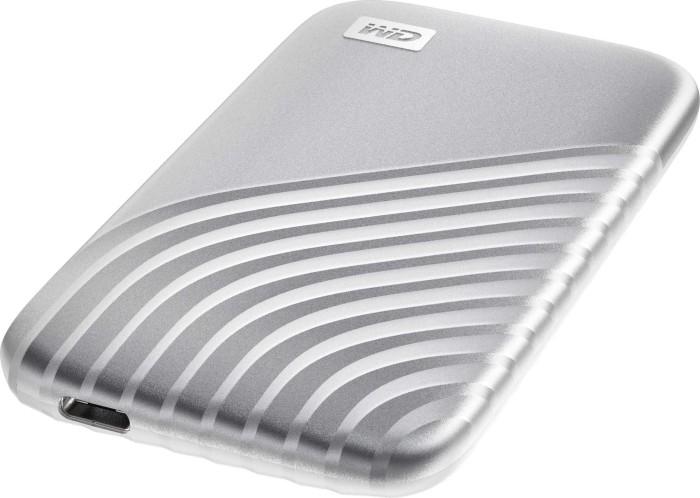 Western Digital My Passport SSD - externe 500GB USB-C 3.1 SSD (R1050/W1000, PCIe 3.0 x2, NVMe, 5J. Garantie) für 64€ | 2 Stück für 118€