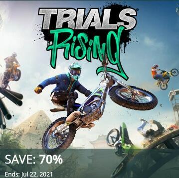 PSN - Trials Rising (PS4) zum Bestpreis von 3,87 € im CA-Store (5,04 € im US-Store) - kein VPN nötig!!!