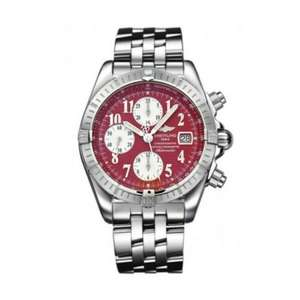 Breitling Chronomat 44 Automatic Red Dial Steel Herrenuhr ( 43.7mm, Swiss Made, Automatik, Stainless Steel)