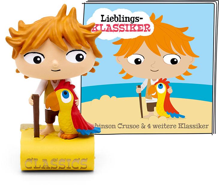 [Hugendubel] Tonie Figur 5 Lieblings-Klassiker: Robinson Crusoe und vier weitere Klassiker | CB 7,55€