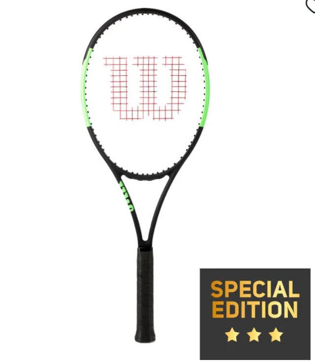 Tennis Point 20% extra Rabatt auf Sale, z,B. Wilson Blade 98 16x19 Countervail Turnierschläger (Special Edition)