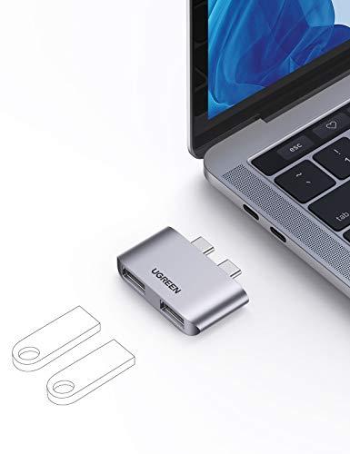 "[Amazon Prime] UGREEN Mini USBC Hub, Adapter auf USB 3.1; 2. Gen kompatibel mit MacBook Pro 13"", 15"", 16"", MacBook Air 2018/2020; bis 10Gbps"
