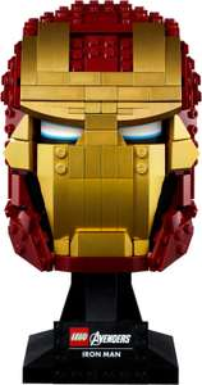 LEGO 76165 Marvel Super Heroes Iron Mans Helm