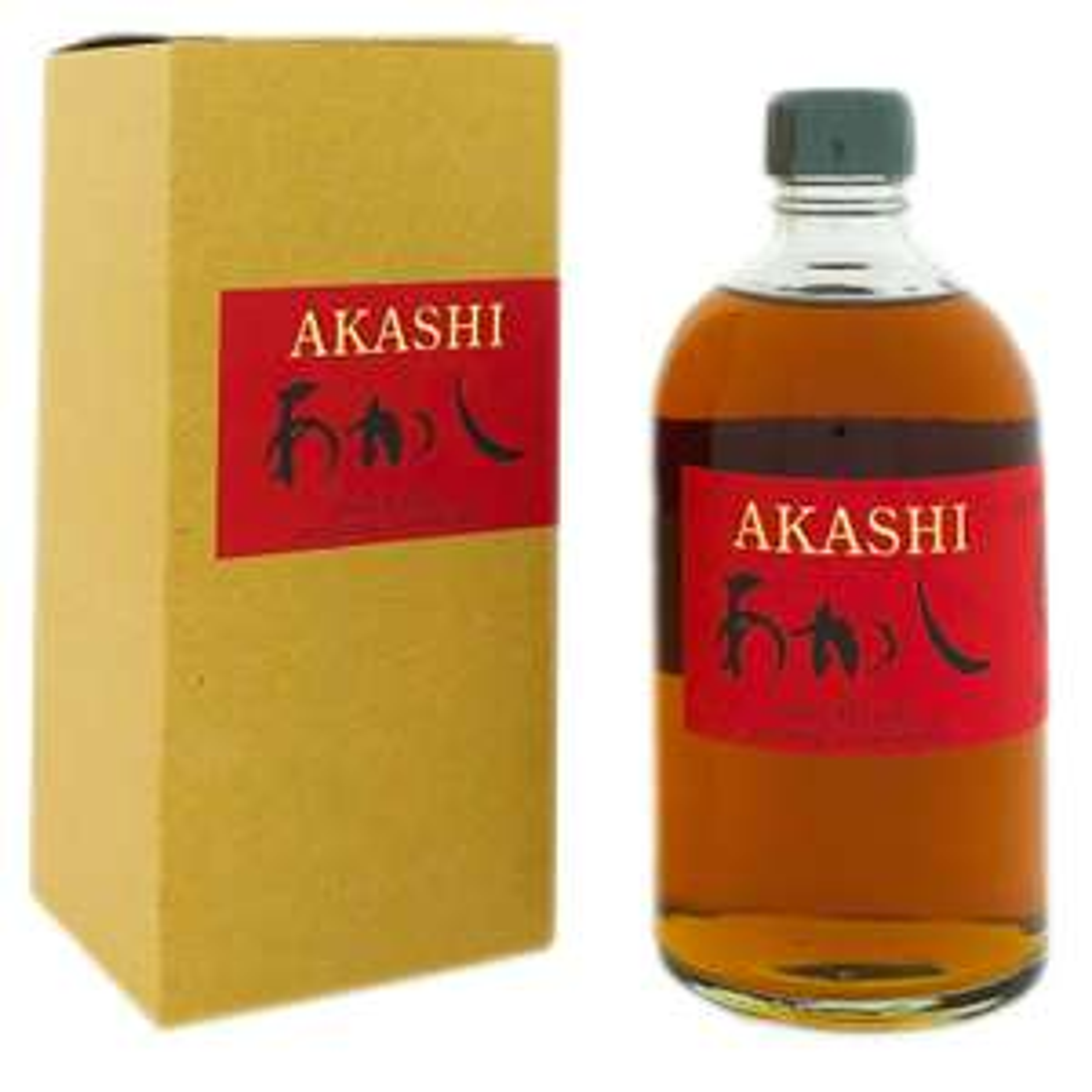 Whisky Akashi 6 YO Red Wine + Box 500ml 50% Vol.