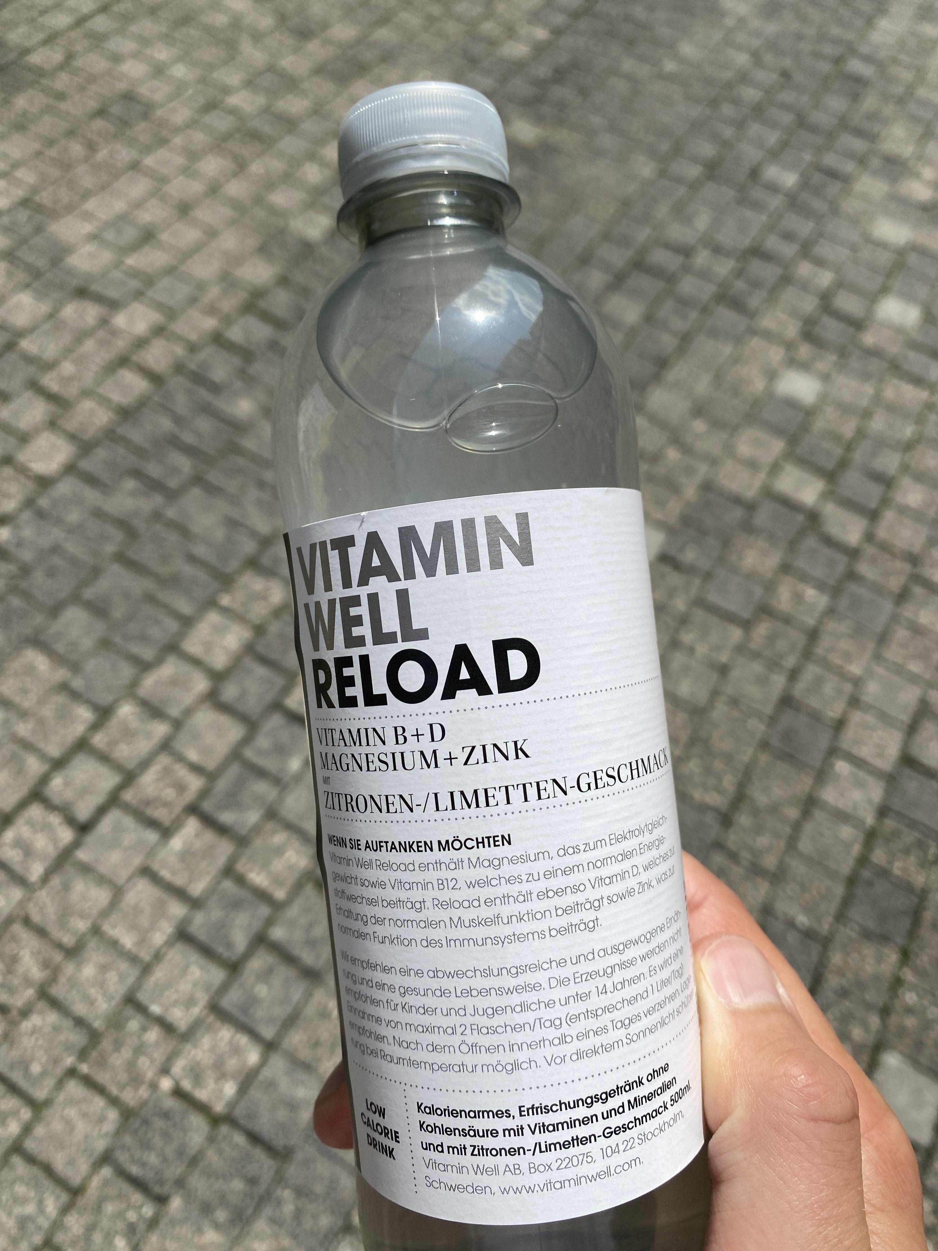 [lokal] Stuttgart Gratis Vitamin Well Reload Flasche