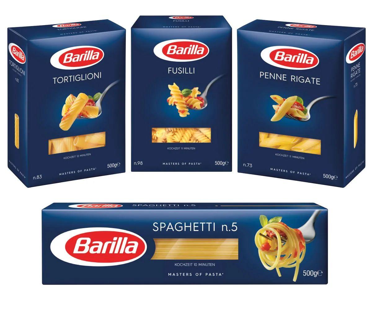 [Rewe] Barilla Pasta Nudeln, verschiedene Sorten, für nur 0,79€ je 500g   ab dem 12.07.