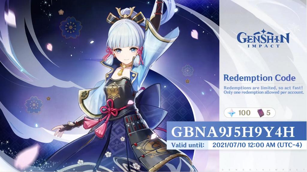 Genshin Impact New Version 2.0 300 Primogem Codes