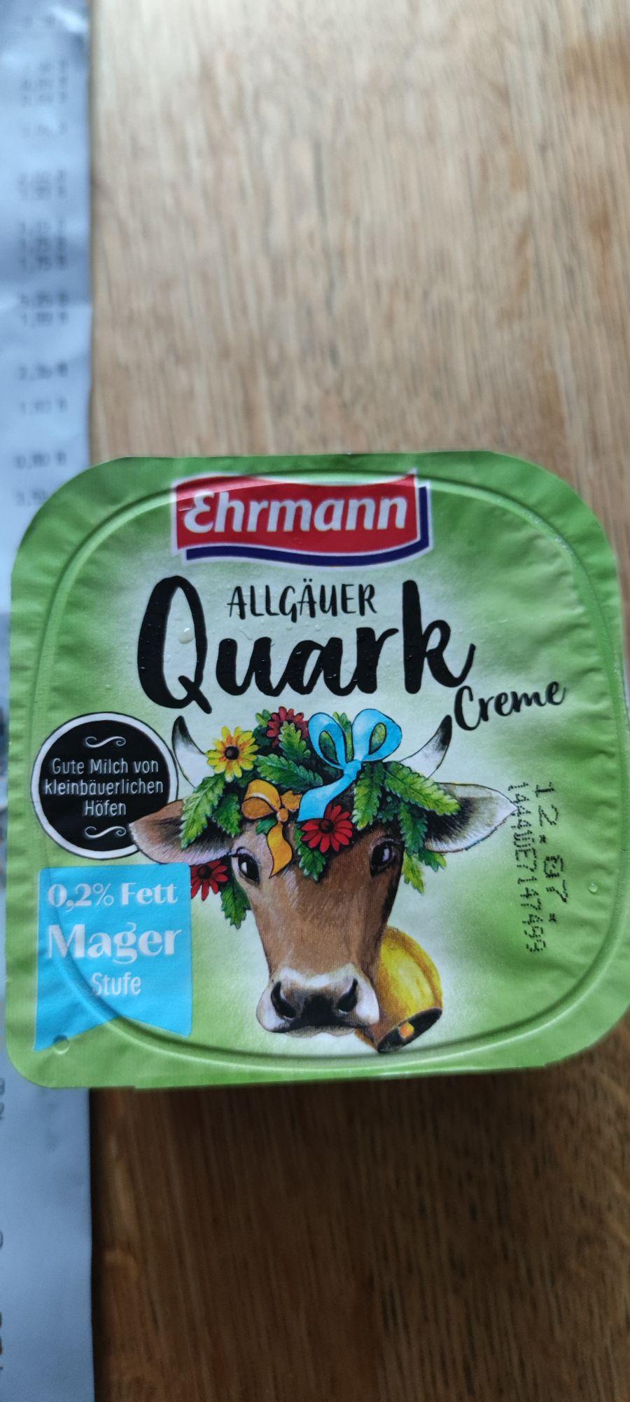 Lokal - Kaufland Wust Brandenburg - Ehrmann Allgäuer Quark 0,2 % Fett Mager Gratis durch MHD & Coupon