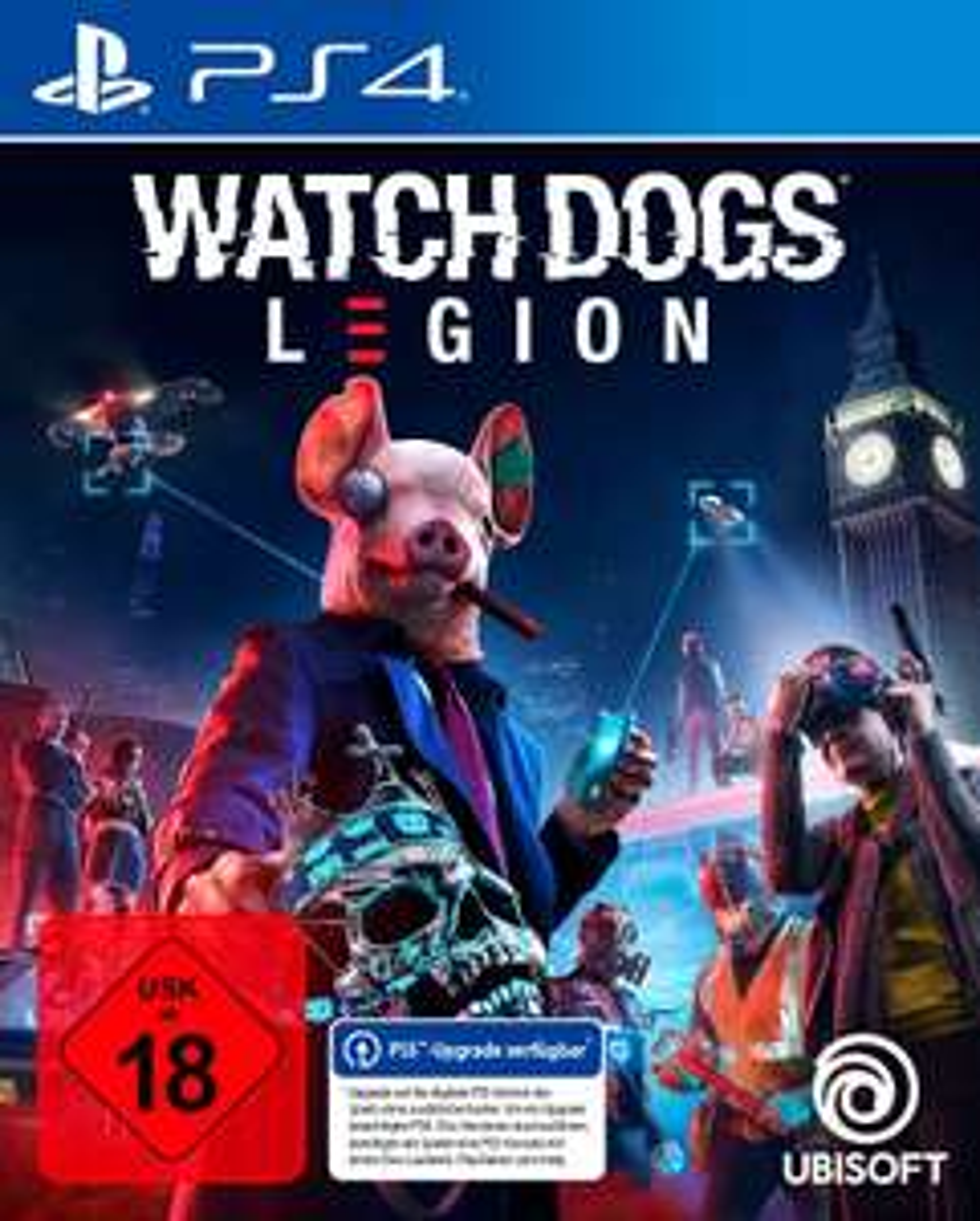 LOKAL - Watch Dogs: Legion (PS4 inkl. PS5 Upgrade) für 10€ (Media Markt Duisburg Großenbaum)