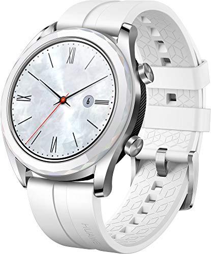 [Amazon.es] Huawei Watch GT Elegant Smartwatch (42 mm Amoled Touchscreen, GPS, Fitness Tracker, Herzfrequenzmessung, 5 ATM wasserdicht) weiß