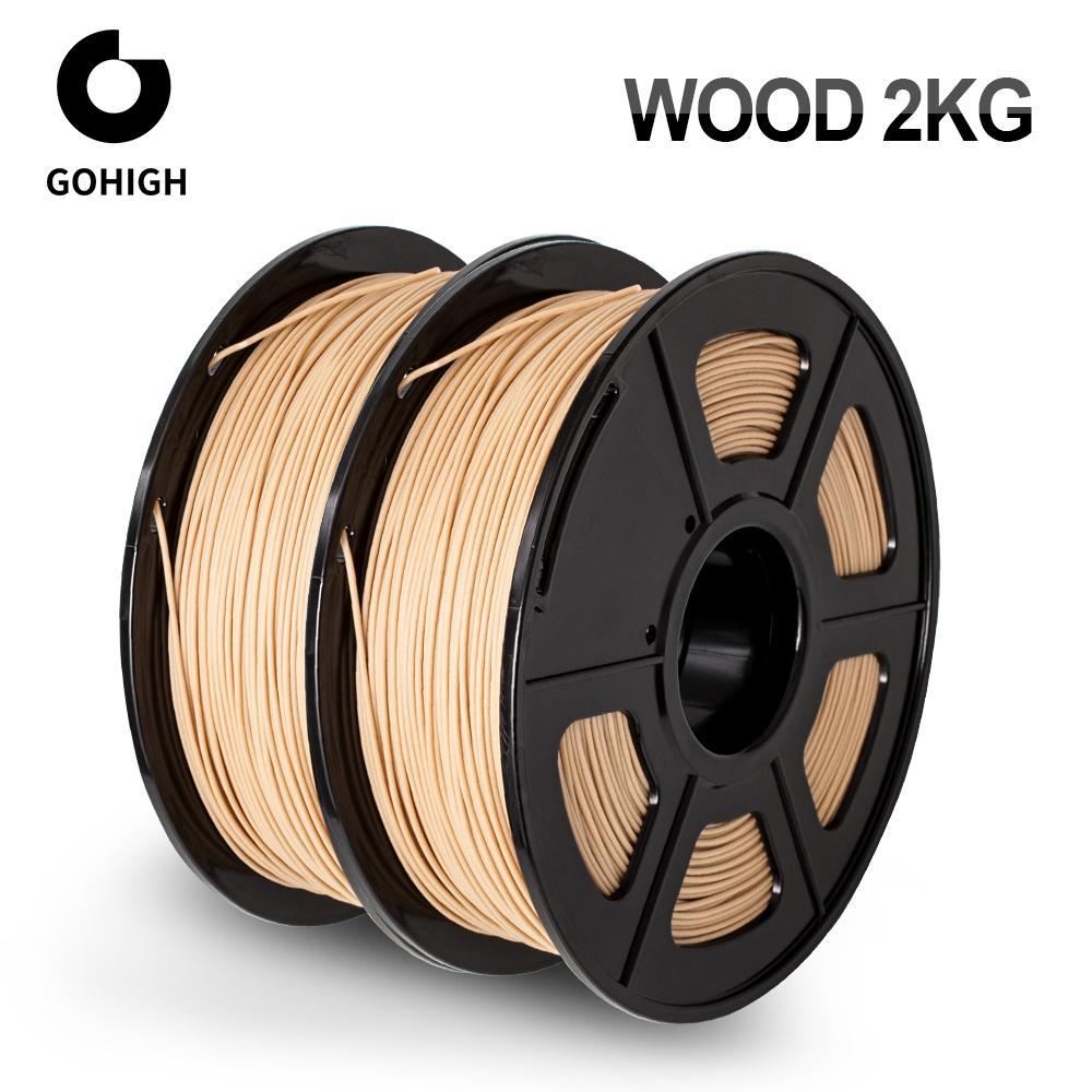 2kg Sunlu 3D-Drucker Holz-Filament 1.75mm (14,80€/kg)