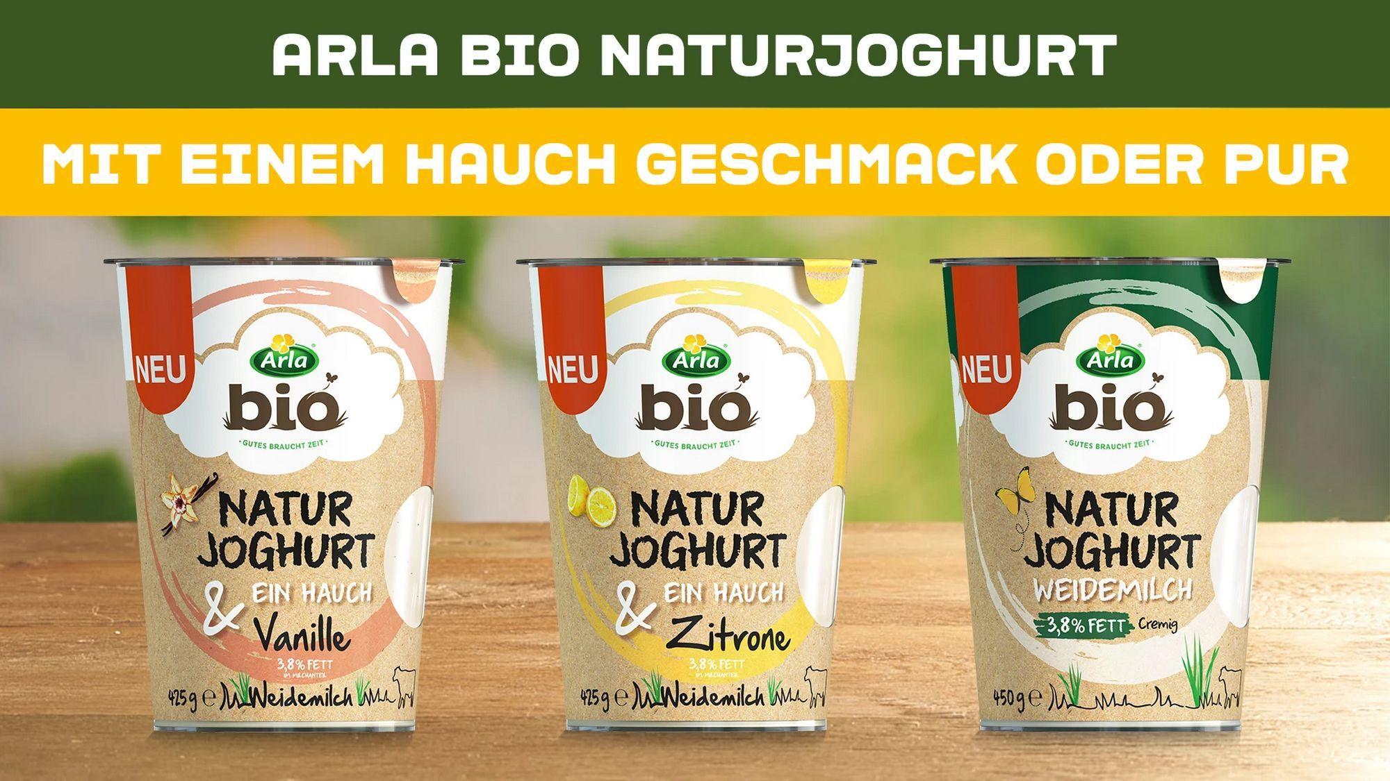 [Edeka Center Minden-Hannover] Arla Bio Natur Joghurt 425g verschiedene Sorten mit Coupon für 0,49€