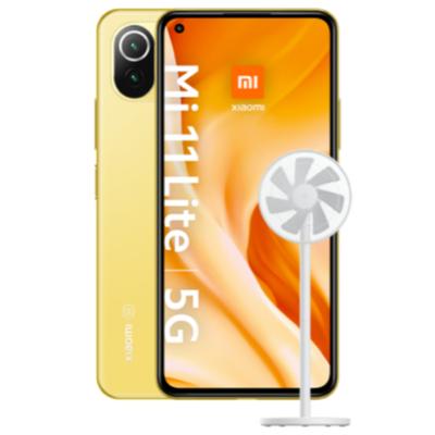 Xiaomi Mi 11 Lite 5G + Xiaomi Fan mit 10 GB Tarif entweder Blau (o2) für eff. mtl.18,23€ oder Congstar (Telekom) für eff. mtl. 22,95€