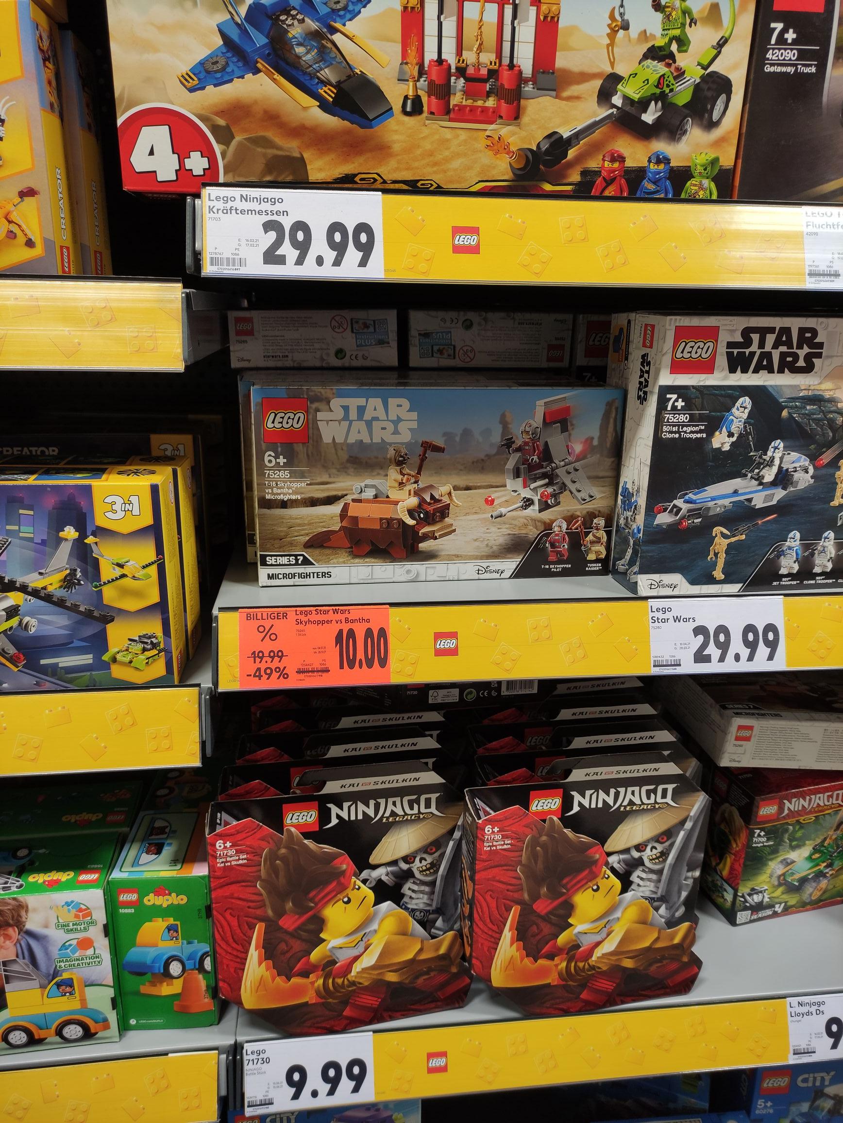 [offline] Kaufland - LEGO®Star Wars zum Bestpreis 75265 (10€) & 75269 (3,20€)