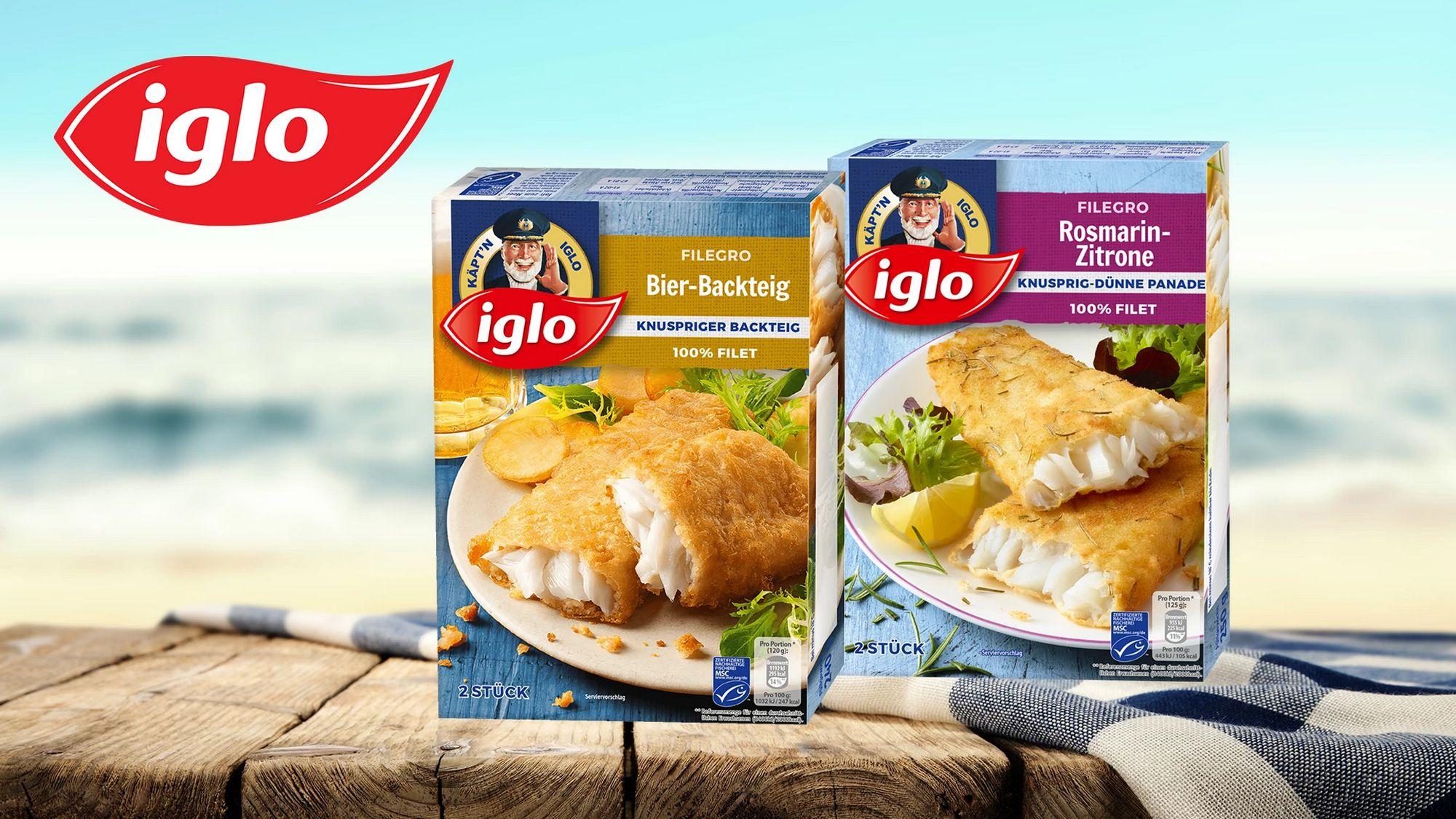[Kaufland] Iglo Filegro 240/250g versch. Sorten