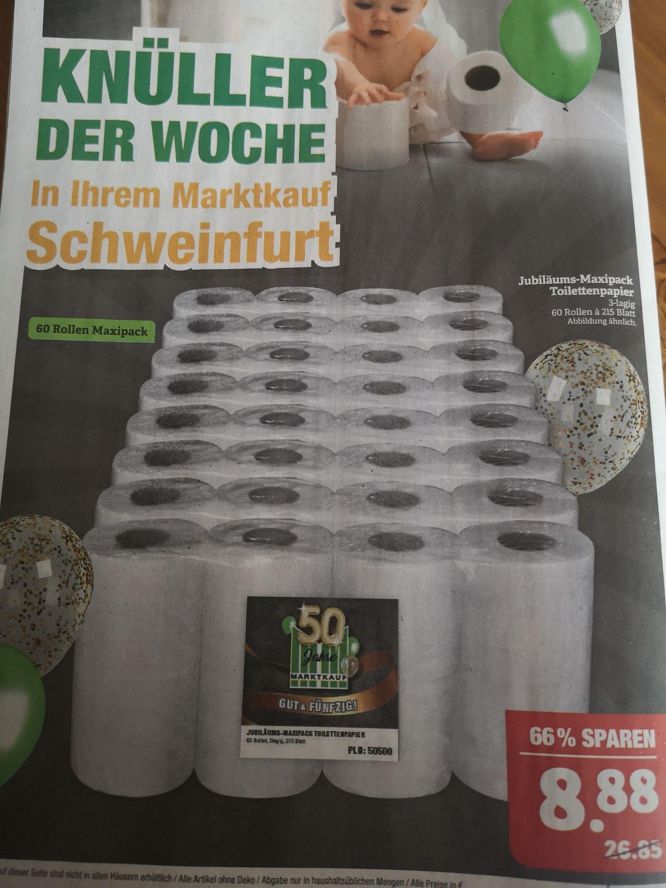 LOKAL SCHWEINFURT Toilettenpapier Klopapier
