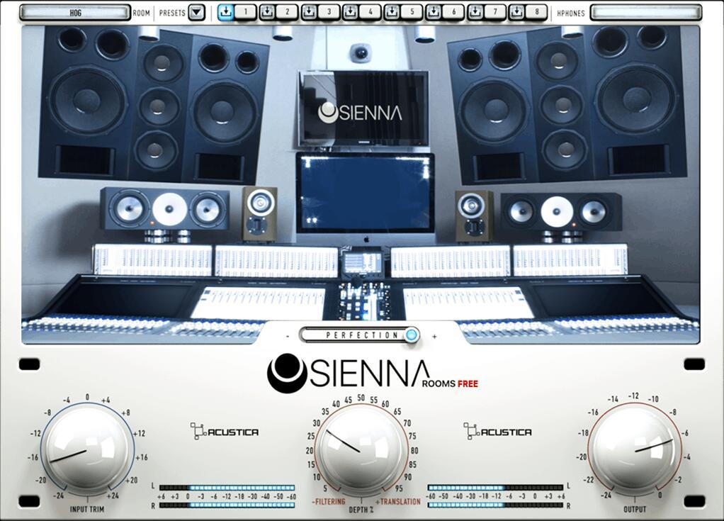 VST / AU : Acustica - Sienna Free