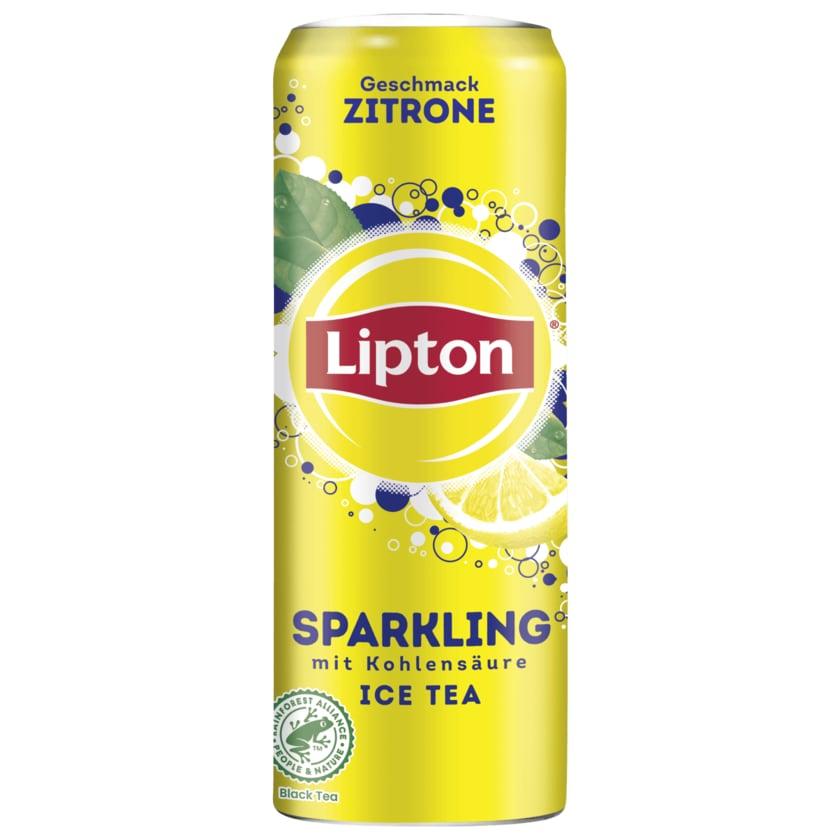 Lipton Sparkling Ice Tea, 0,33 Liter, verschiedene Sorten, mit oder ohne Zucker die Dose für 39 Cent [ Penny ]